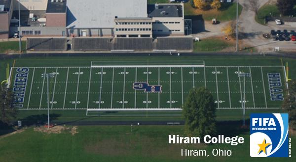 Hiram College, ProGrass, FIFA, Act Global, football