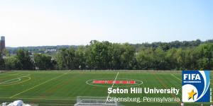 Seton Hill, ProGrass, Act Global, synthetic turf, artificial turf, sports turf, football turf, sports field, stadium, FIFA, FIFA turf, American football